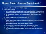 morgan stanley supreme court contd