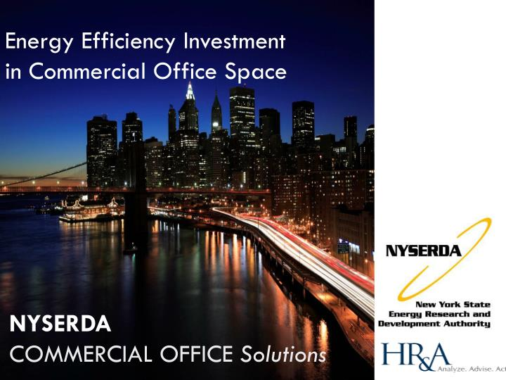 Nyserda commercial office solutions