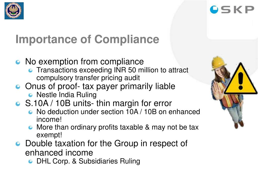 Importance of Compliance