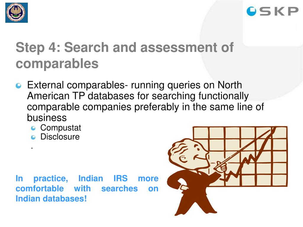 Step 4: Search and assessment of comparables