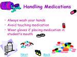 handling medications