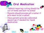 oral medication18