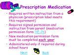 prescription medication10