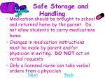 safe storage and handling28
