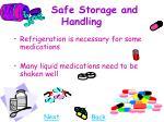 safe storage and handling29