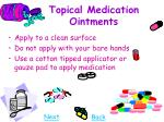 topical medication ointments