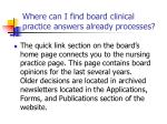 where can i find board clinical practice answers already processes