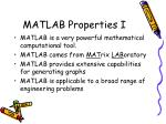 matlab properties i