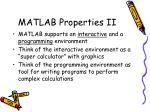 matlab properties ii