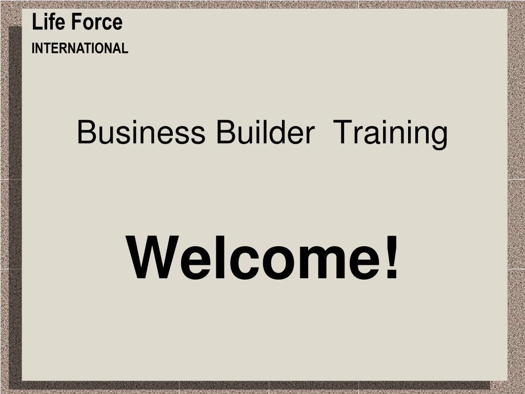 business builder training l.