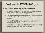 business is booming cont16