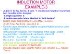 induction motor example 3