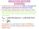 induction motors starting1