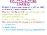 induction motors starting2