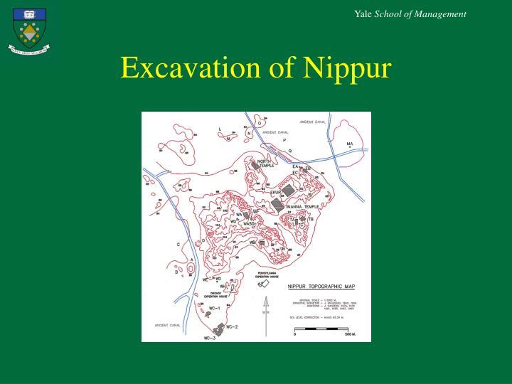 Excavation of Nippur