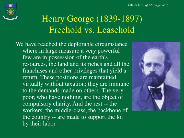 Henry George (1839-1897)