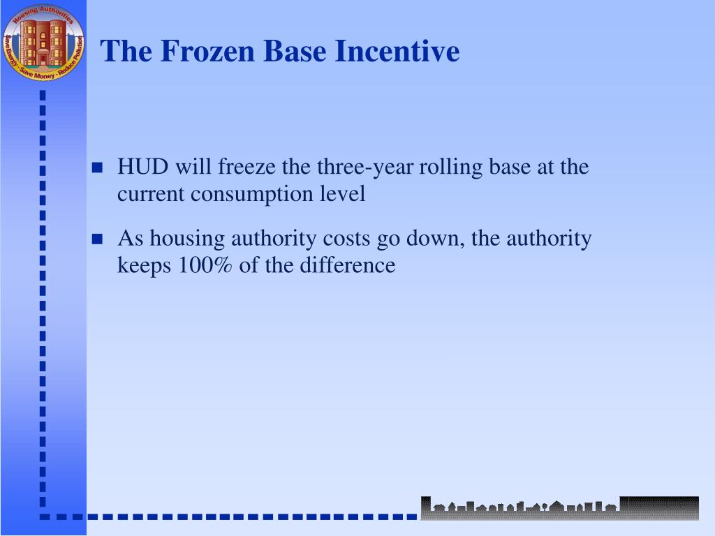The Frozen Base Incentive