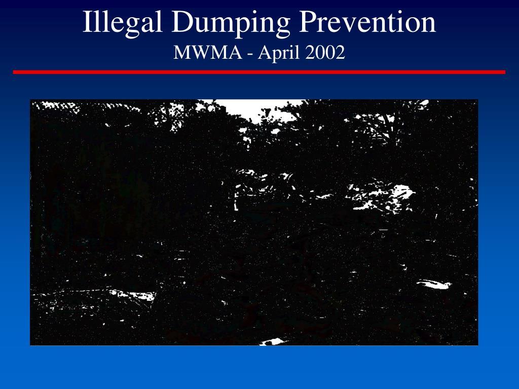 illegal dumping prevention mwma april 2002