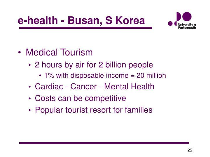 e-health - Busan, S Korea