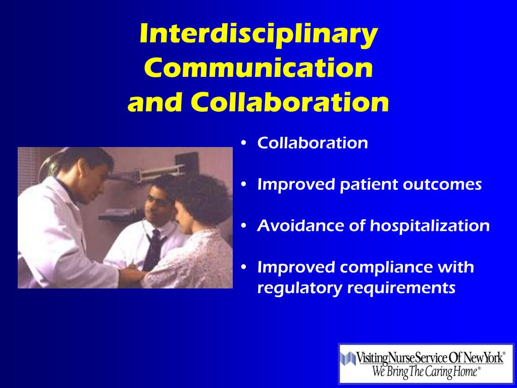 Interdisciplinary Communication