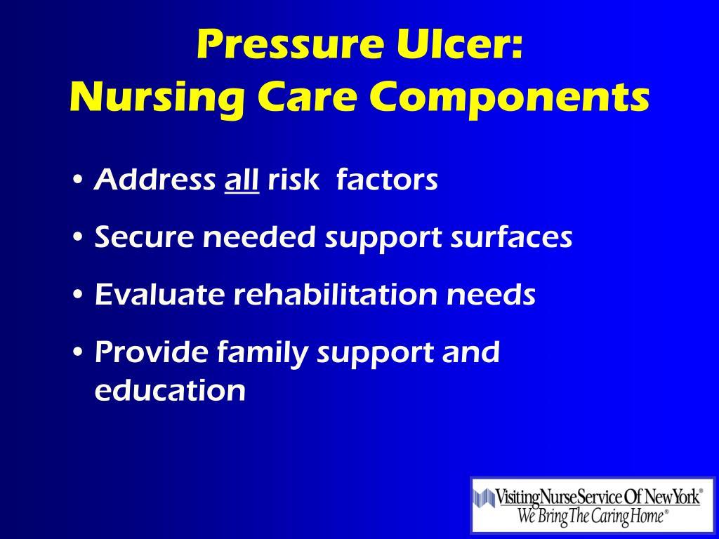 Pressure Ulcer: