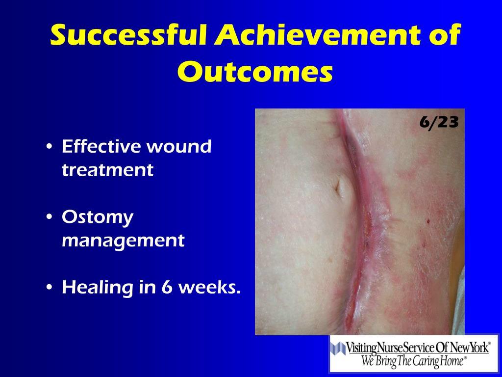 Effective wound treatment