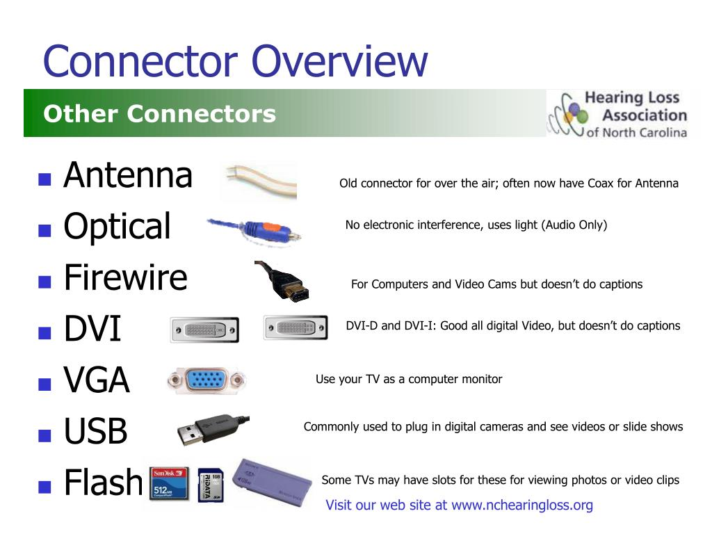 Connector Overview