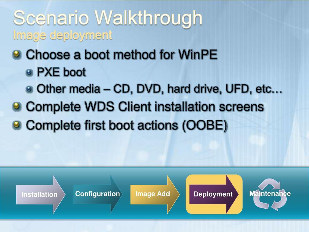 PPT - Windows Deployment Services PowerPoint Presentation