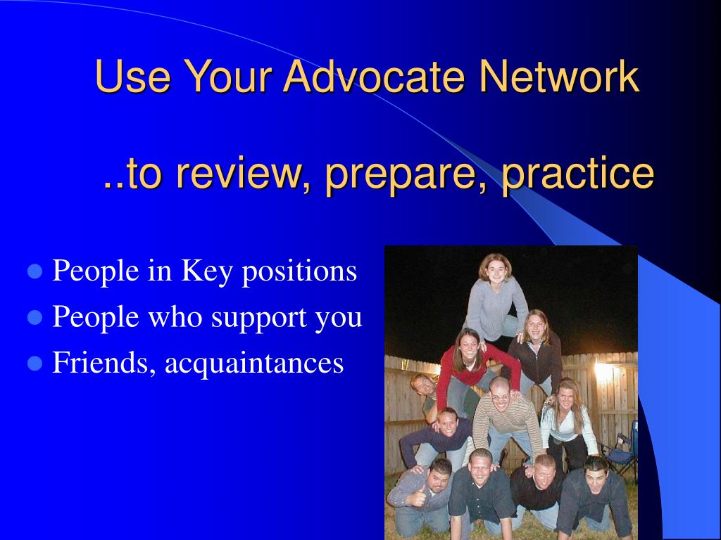 Use Your Advocate Network