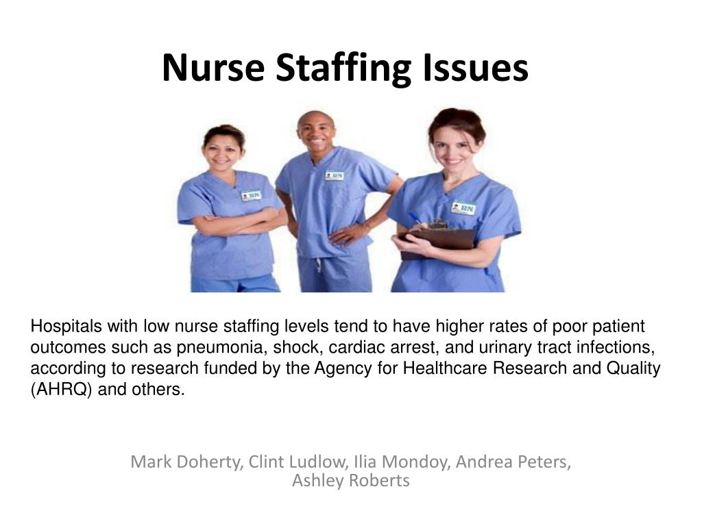 nurse staffing issues l.