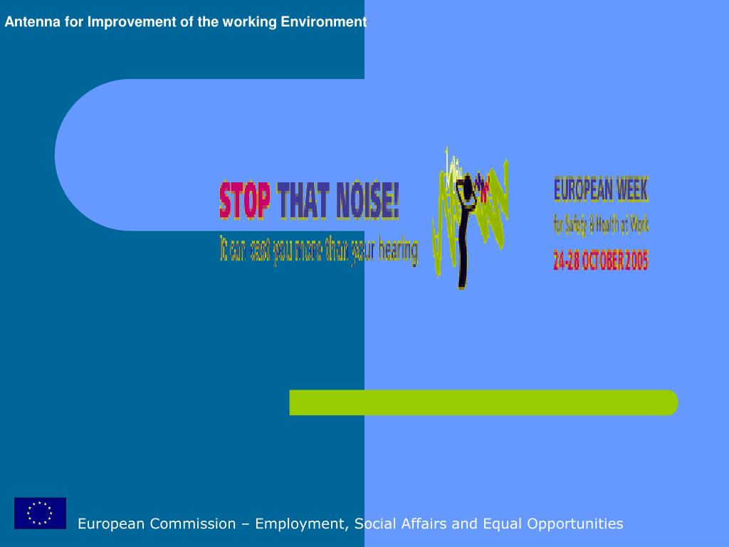 European Commission – Employment, Social Affairs and Equal Opportunities