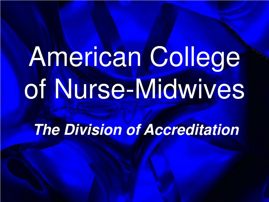 american college of nurse midwives l.