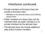 inheritance continued8