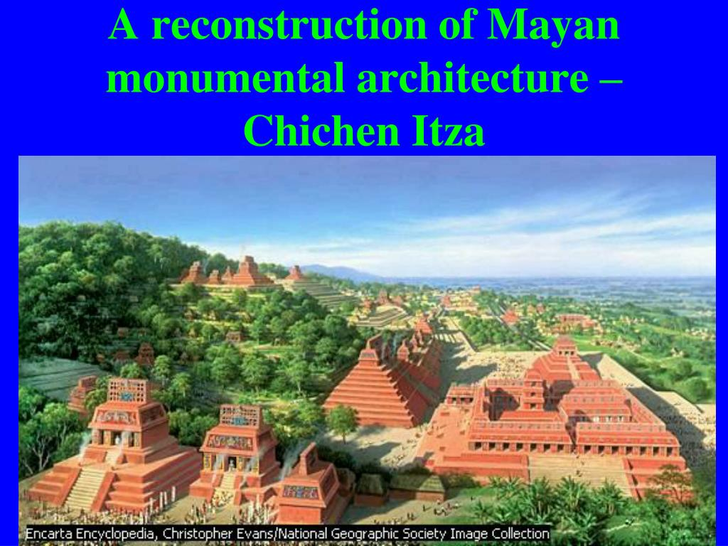 A reconstruction of Mayan monumental architecture – Chichen Itza