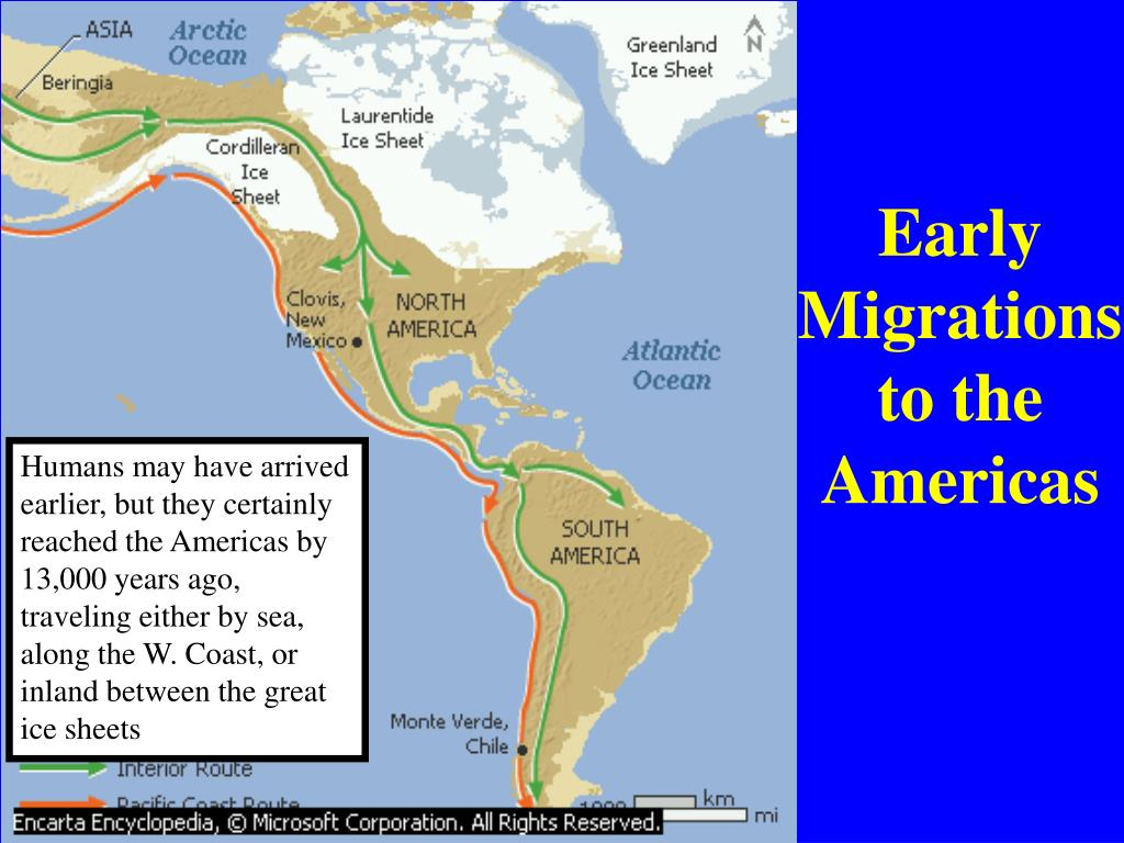 Early Migrations to the Americas
