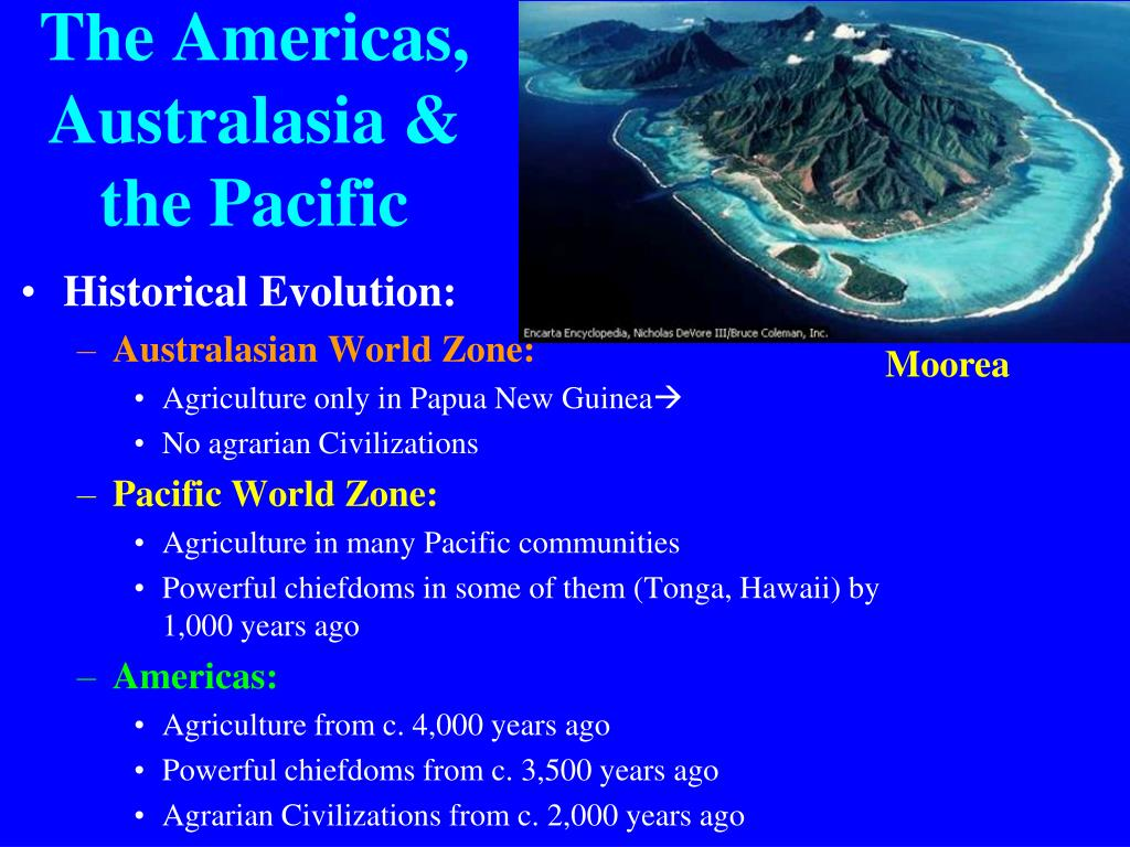 The Americas, Australasia & the Pacific