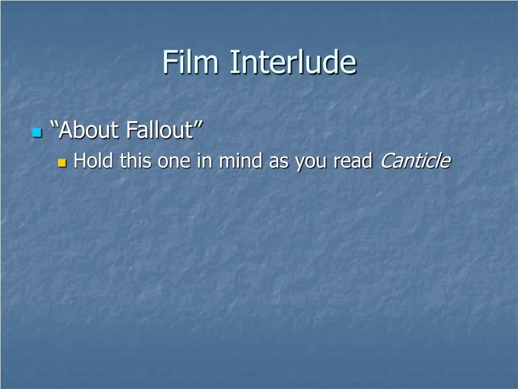 Film Interlude