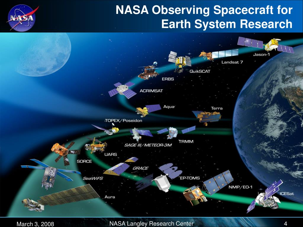 NASA Observing Spacecraft for