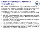 case study of medical home and telehealth use
