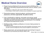 medical home overview