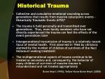 historical trauma