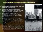 status of urban american indians alaska natives