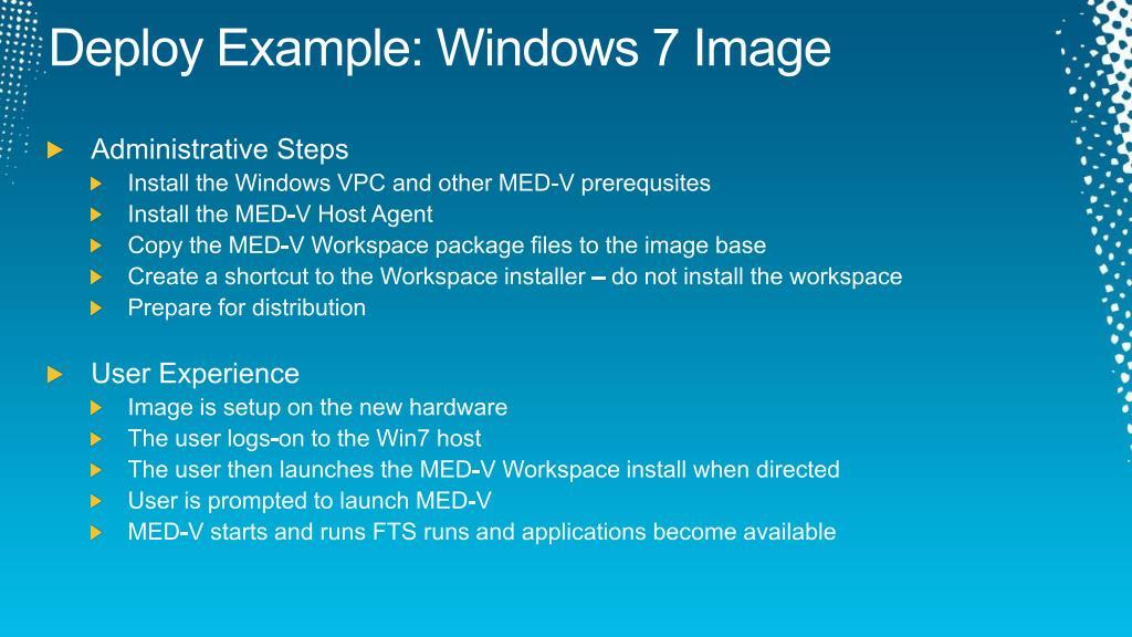 Deploy Example: Windows 7 Image