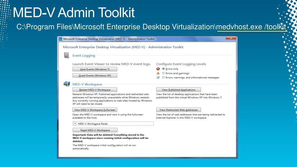 MED-V Admin Toolkit