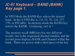 ic 91 keyboard band bank key page 1