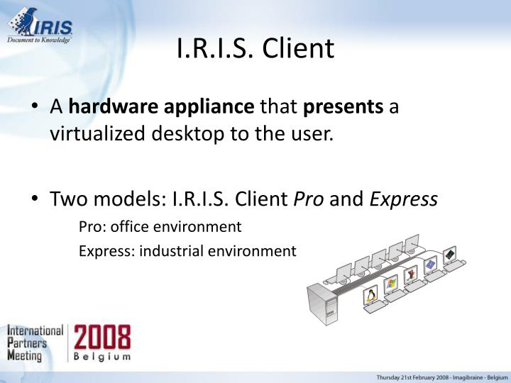 I.R.I.S. Client