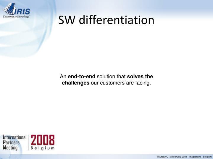 SW differentiation