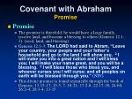 covenant with abraham promise