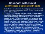covenant with david god proposes a covenant with david41