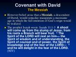 covenant with david the messiah